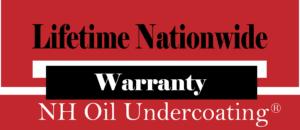 Undercoating Rustproofing Warranty